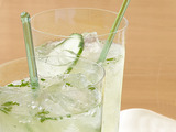 Cucumber and Lime Gin Fizz