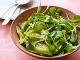 Spicy Green Tomato-Avocado Salad
