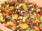 Black Bean, Tropical Fruit and Queso Blanco Salsa