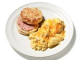 Perfect Scrambled Eggs With Biscuits