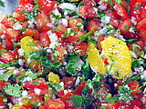 Fresh Orange and Tomato Salsa