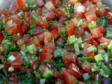 Chilean Salsa for BBQ: Pebre