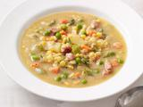 Lentil Soup With Peas and Ham