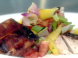Grilled Red Snapper with Tropical Fruit Salsa