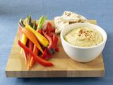 Ranched-Up Hummus Dip