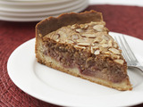 Deep Dish Plum and Almond Pie