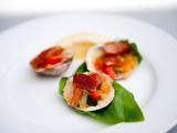 Clams Casino with Compound Butter