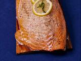 Cedar Plank Rum Salmon
