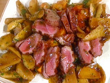 Duck Breast with Apples and Potato Goulash: Petto d'Anitra al Aceto di Mele