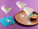 Lemon Flower Martinis