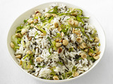 Rice with Leeks and Hazelnuts