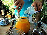Fresh Fruit Spritzers