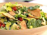 Herbed Toasted Pita Salad