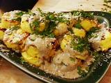 Grilled Polenta with Morel Vinaigrette