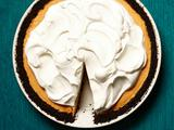 Pumpkin-Chocolate Chiffon Pie