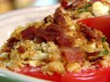 Blue Cheese and Bacon Broiled Tomatoes