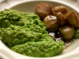 Scallops with Thai-Scented Pea Puree