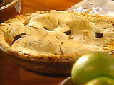 Apple Pie with Rose Water