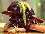 Glazed and Braised Short Ribs with Sherry Vinegar