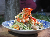 Green Papaya Salad with Prawn and Pork: Goi Du Du Tom Thit