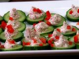 Mediterranean Spiced Cucumber Medallions