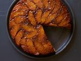 Salted Caramel-Orange Upside-Down Cake