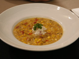 Roasted Corn Chowder with Lobster