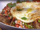 "Grilled Chicken Thighs with Brazilian ""Vinaigrette"" Salsa"
