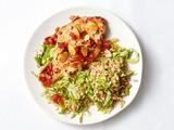 Turkey With Warm Barley Salad