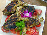 Cilantro-Tequila Grilled Chicken