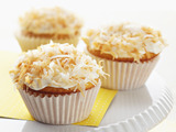 Lemon-Filled Coconut Cupcakes