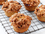 Cranberry-Eggnog Muffins