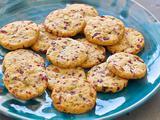 Ron's Cheddar, Cranberry & Pistachio Cookies