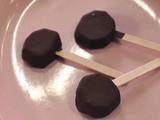 Chocolate Covered Kiwi Pops