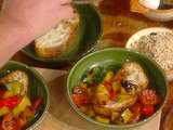 Pepper Stew with Toast: Peperonata con Bruschetta