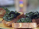 Bruschetta with Greens