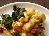 Potato Bread-Kale Stuffing With Andouille Sausage