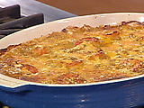 Shrimp and Mirliton Casserole