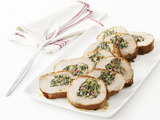 Turkey Roulade With Swiss Chard