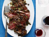 Olive-and-Spice-Rubbed Leg of Lamb