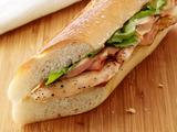 Chicken Cordon Bleu Sandwiches