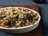 Rice Stuffing With Swiss Chard and Raisins