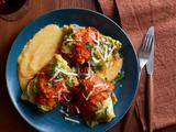 Stuffed Cabbage Rolls With Tomato Sauce