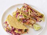 Shrimp Tacos With Mango Slaw