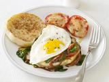 Spinach and Egg Sandwiches