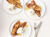 Rum French Toast A La Mode