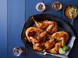 Serrano Chile-Rubbed Roast Chicken