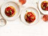 Tomato-Basil Pizzettes