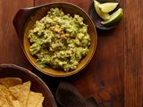 Spicy Guacamole With Mango