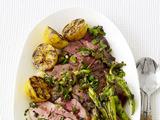 Steak With Olive Salsa